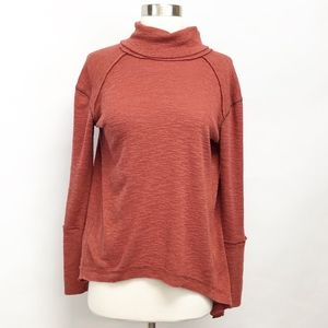 Free People Sweaters - free people | split back turtleneck mock sweater